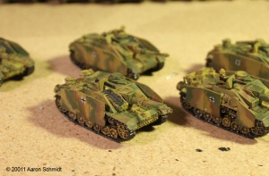 StuG Platoon Work In Progress