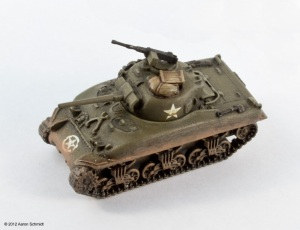 Flames of War Sherman tank