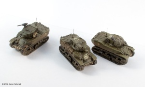 Stuart tanks for Flames of War