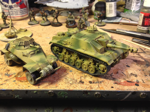 Bolt Action Vehicles