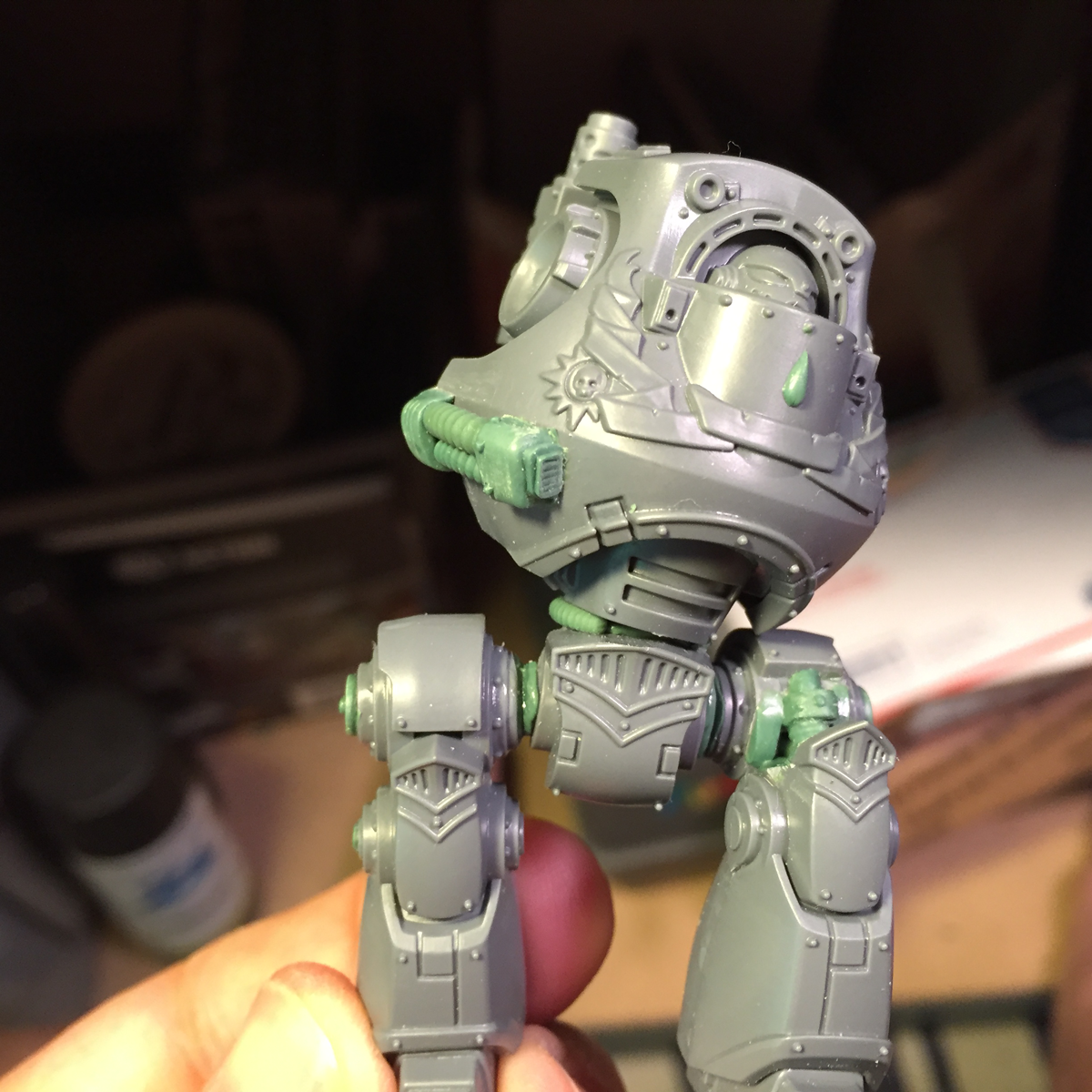 Converting The BaC Dreadnought (part3)