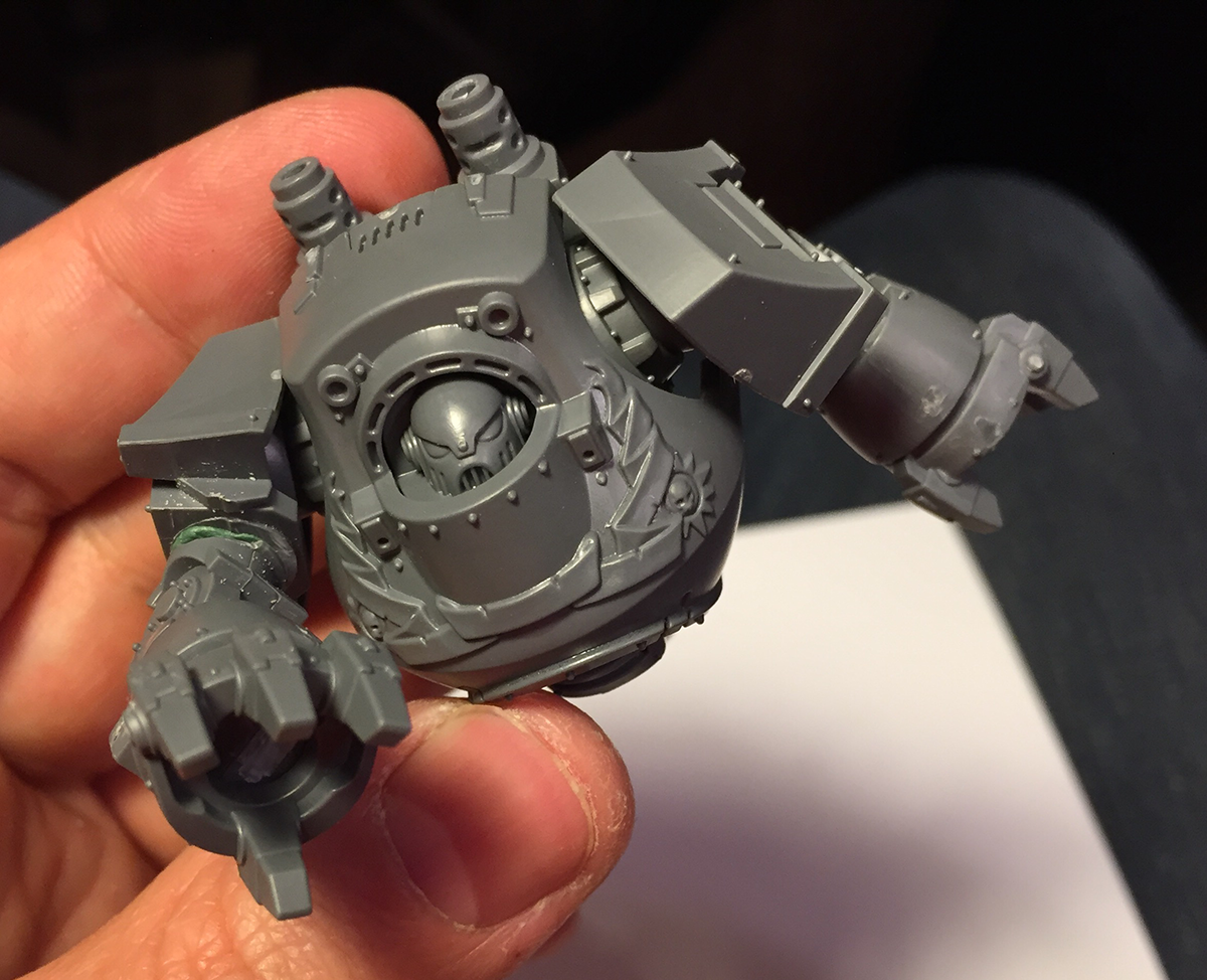 Converting The BaC Dreadnought (part 1)