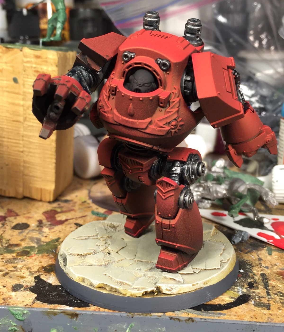Recent Project: Blood Angels